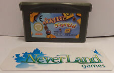 GBA Console Gioco Game Boy GameBoy Advance Play EUR - SCARABEO SCRABBLE SCRAMBLE