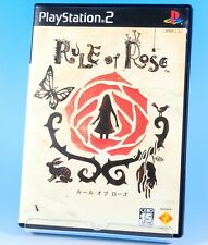 PS2 RULE OF ROSE SONY NTSC-J SURVIVAL HORROR VIDEO GAME [JAPAN IMPORT]