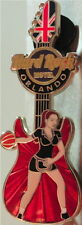 Hard Rock Hotel ORLANDO 2012 GIRLS of GAMES Series PIN Olympic Guitar LONDON BB