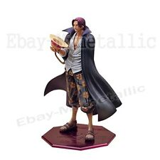 "One Piece P.O.P DX Red-Haired Pirates Shanks 24cm/9.5"" PVC Figure NO Box"