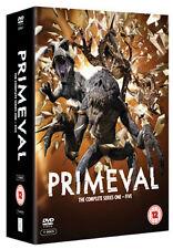 PRIMEVAL - SERIES 1 TO 5 - DVD - REGION 2 UK