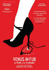 VENUS IN FUR (ROMAN POLANSKI) - ENG SUB - FRENCH AUDIO   (DVD)