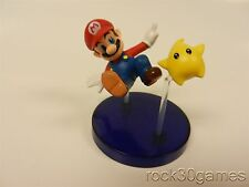 Mario Jumping with Star - Super Mario Galaxy TOMY Gacha Buildable Figure