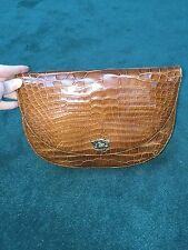 Ralph Lauren Genuine Crocodile Bag NWOT