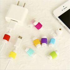 Cavo Saver Protector 10pcs Emoji caricatore USB per Apple iPhone colore casuale