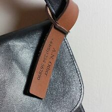 Personalised Luggage Tag - Leather - Any personalisation