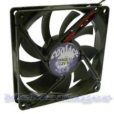 Cool4ce 8cm / 80mm / 80x80x15mm 12V computer / PC / CPU silenziosa di raffreddamento Case Fan