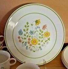 Vintage 1970 's Corelle  Dinnerware Dishes  SPRING MEADOW 31 Piece Set RETIRED