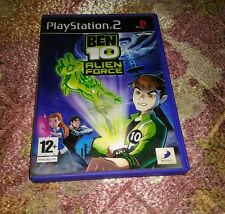 PS2 ORIGINAL(BEN 10 ALIEN FORCE )USED/PREOWNED GAME100% WORKING