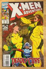 X-MEN ADVENTURES VOL 1 # 10 Comic Nook 1993 Rogue w. bonus card