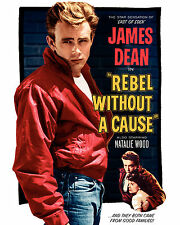 "James Dean - Rebel Without a Cause Movie Poster, 6.5""x10"" Photo"