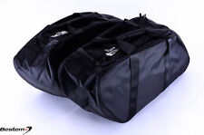 Yamaha Road Star Saddlebag Side Case Trunk Liner Bag Liners Bags, Black
