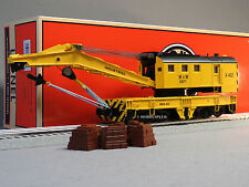 LIONEL MOW LEGACY SCALE COMMAND CONTROL CRANE X-402 o gauge train cc 6-81885 NEW
