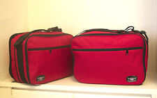 BMW R1200GS VARIO PANNIER LINER BAGS EXPANDABLE IN RED COLOUR