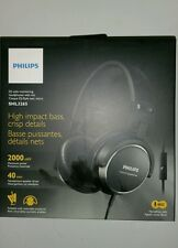 Philips SHL3265BK/00 DJ Style Monitoring Headphones With Mic