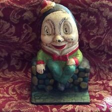 Humpty Dumpty Vintage Cast Iron Coin Bank
