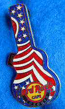TORONTO CANADA STARS & STRIPES GUITAR CARRYING CASE SERIES Hard Rock Cafe PIN LE
