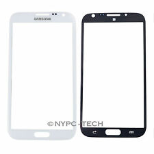 Front Outer Glass Screen Lens for White Samsung Galaxy Note.2 SGH-T889V GT-N7108