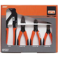 Bahco 9897 Ergo Pliers Set - Bacho Plier Kit
