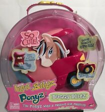 New BRATZ Pony Doll Buggy Blitz Babyz Ponyz Horse Trailer Car MGA