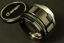 Canon 50mm f 1,2 rangefinder (leica LTM), BLACK VERSION for VI-T VI-L.     RARE!