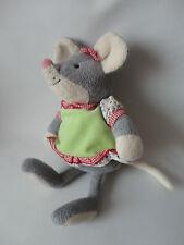 Sterntahler Kuscheltier Plüschtier Maus Mathilda ca. 25 cm. mit Rassel