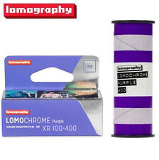 NEW Lomography LomoChrome Purple XR 100-400 ISO 120 Color Negative Film EXP 2017
