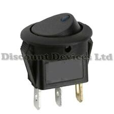 Illuminated Round Rocker Switch 10A 230-250V RED  Light