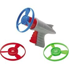 LUNAR LAUNCHER Space Pistol Retro toy propeller prop helicopter disc Ray Gun