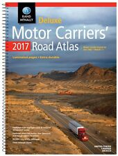 Rand McNally 2017 Deluxe Motor Carriers' Road Atlas( Spiral-bound)