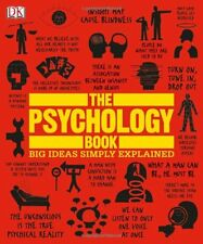 The Psychology Book (Big Ideas Simply Explained) by Nigel Benson (Hardcover) NEW