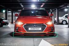 Sequence Front Lip Unpainted Part For Hyundai Elantra Avante AD 2017