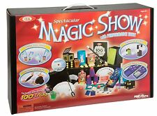 Magic Show Tricks Suitcase Magician Cards Performace Table Props Boys Girls