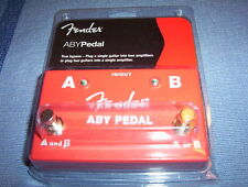 Fender ABY True bypass A/B pedal