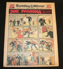 1951 Sunday Mirror Weekly Comic Section January 21st (VF) Superman Lil Abner