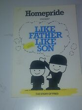 Like Father Like Son The Story of Fred.