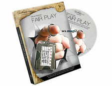 Fair Play (DVD and Gimmick) by Steve Haynes Magic Trick Close Up Mind Read NEW