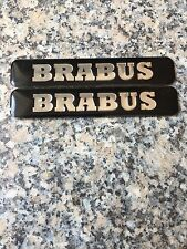 2x Brabus Sticker Adhesivo emblema logotipos Smart & Mercedes