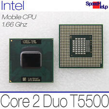 MOBILE CPU INTEL CORE 2 DUO T5500 1660MHZ 1.66GHZ 2MB 667MHZ SL9SH LF80537 11