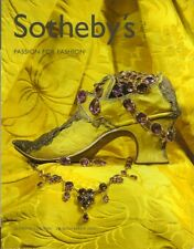 SOTHEBY'S PASSION FOR FASHION COUTURE JEWELS LACE LUGGAGE Vuitton Catalog 2002