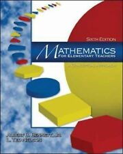 Mathematics for Elementary Teachers: A Conceptual Approach (6th Edition)