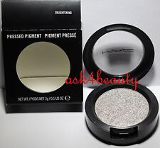 Mac Pressed Pigment 0.1oz/ 3 g Shade (Enlightening) New In Box