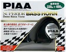 JDM NEW PIAA LOUD SPORTS HORN SUPERIOR BASS 330 / 400HZ  HORNS HO-9 JAPAN