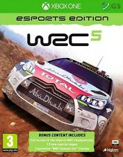 WRC 5 Esports Edition Xbox One * NEW SEALED PAL * Eng