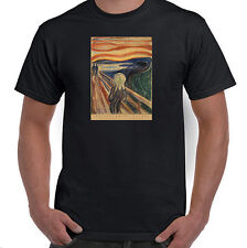 The Scream (Scream of Nature) by Edvard Munch, T-Shirt, All Sizes & Styles NWT