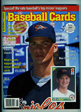 June 1990 Baseball Cards Magazine includes 6 cards inside Ben McDonald Cover