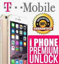 OFFICIAL T-Mobile USA PREMIUM Unlock Service iPhone 5 5s 5c 6 6+ 6s 6s+ 7 + all