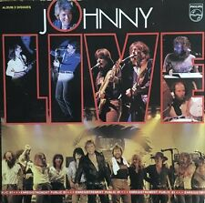 Johnny Hallyday - Live - Double Vinyl 33T LP
