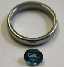 NATURAL LONDON BLUE TOPAZ GEMSTONE 6X8MM LOOSE FACETED OVAL 1.9CT MINERAL TZ26