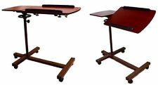 SHARPER IMAGE Best Over Bed Table, Adjustable Tilt Table by KIST